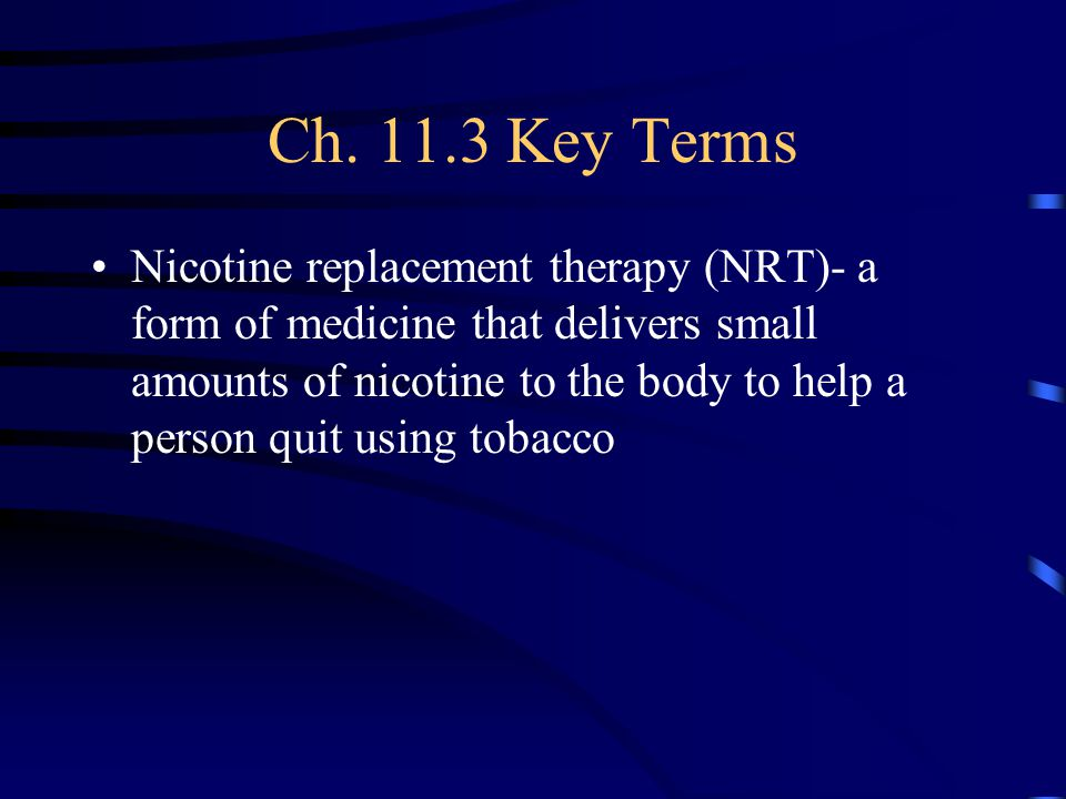 Ch. 11.3 Key Terms