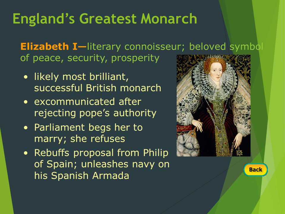 England's Greatest Monarch