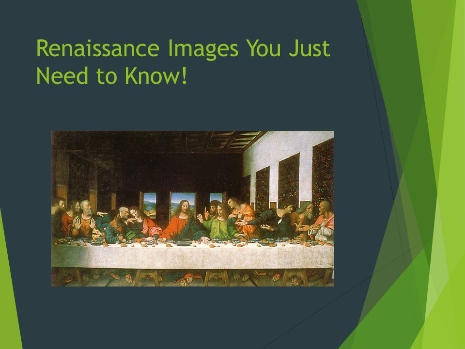 Renaissance Images You Just Need to Know!
