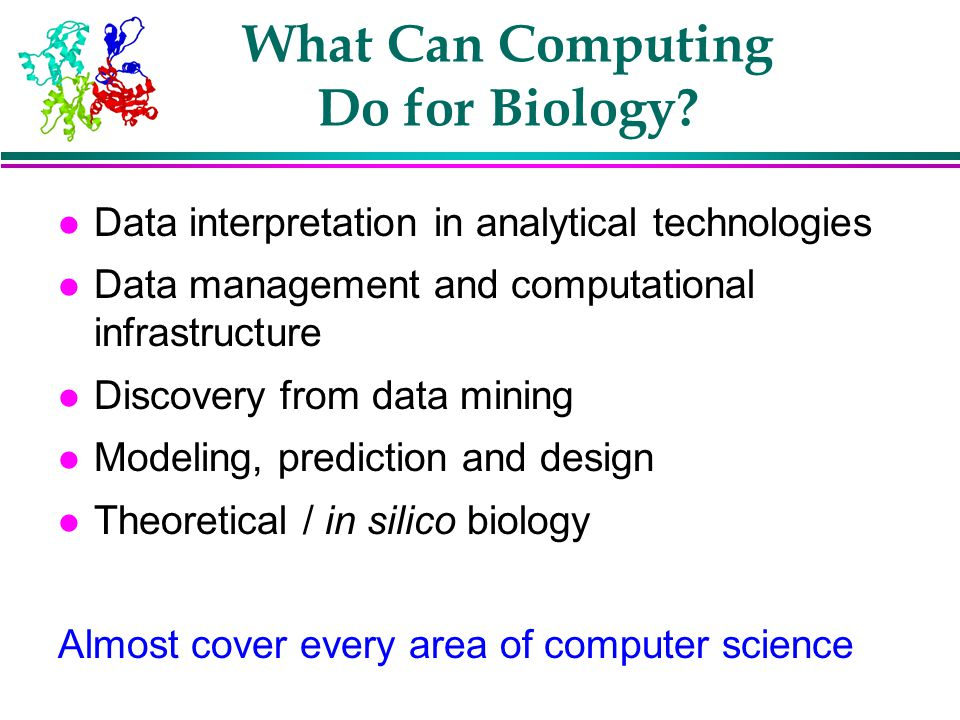 What Can Computing Do for Biology