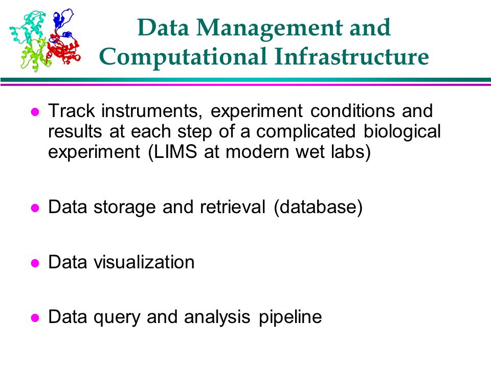 Data Management and Computational Infrastructure