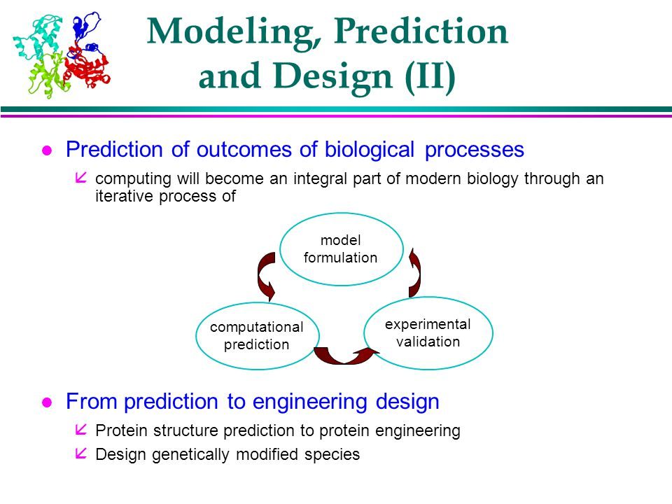 Modeling, Prediction and Design (II)