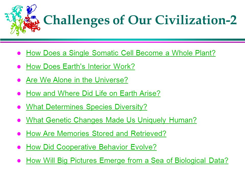 Challenges of Our Civilization-2