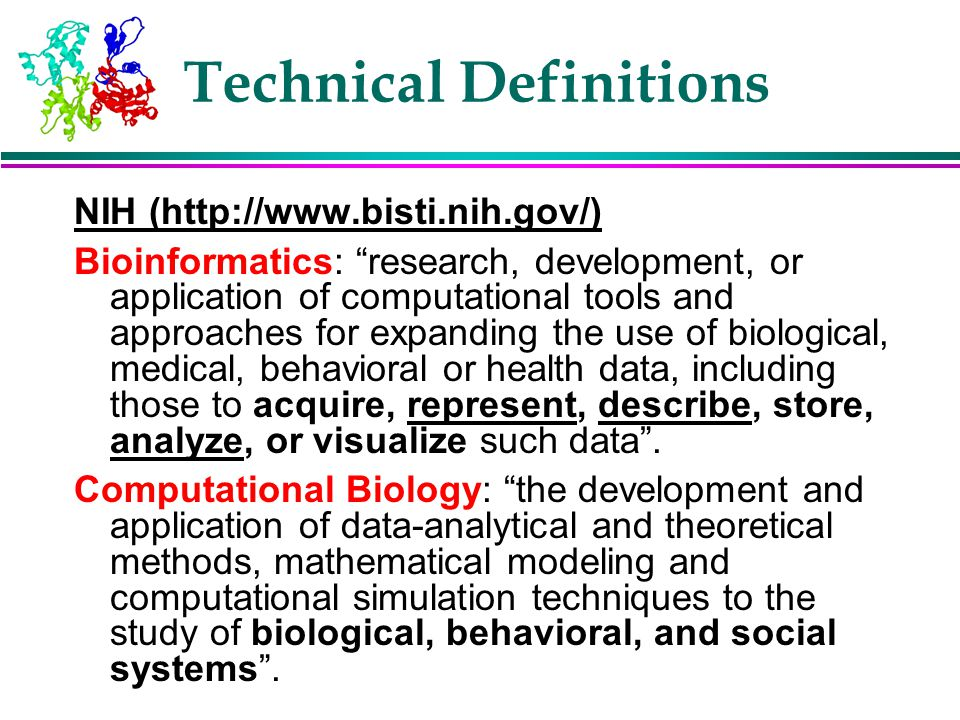 Technical Definitions