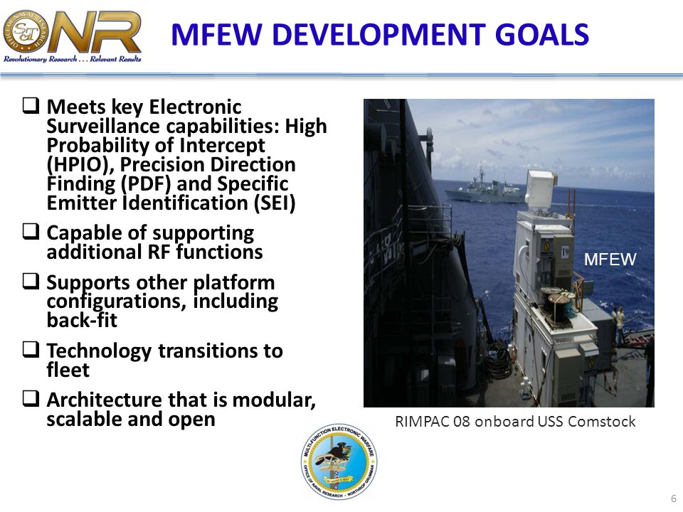 MFEW DEVELOPMENT GOALS