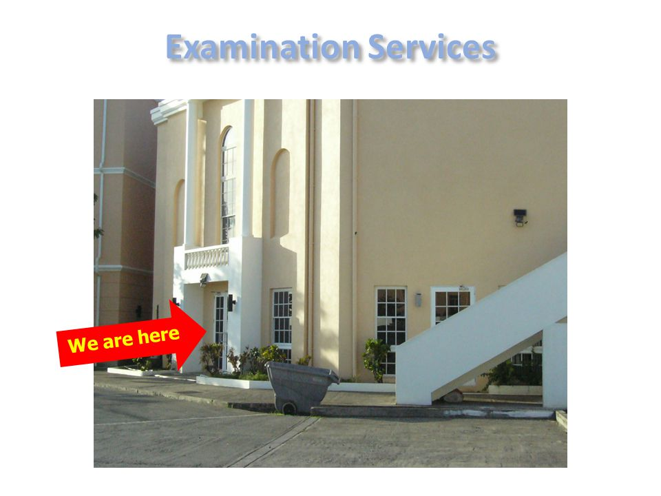 Examination Services We are here 24