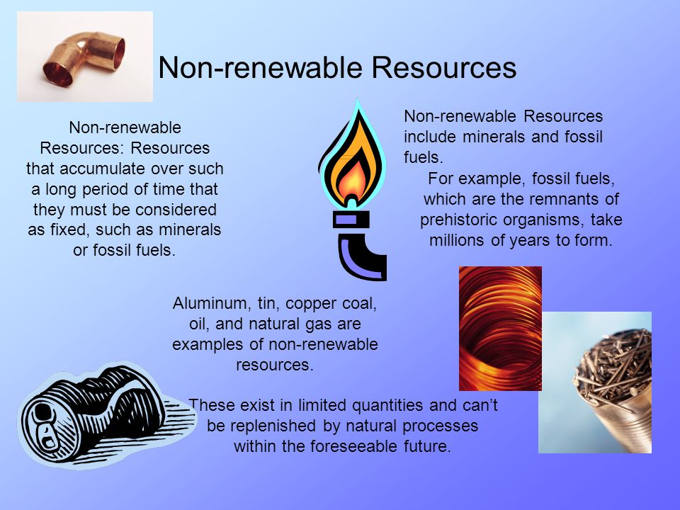 renewable resources and nonrenewable resources pdf