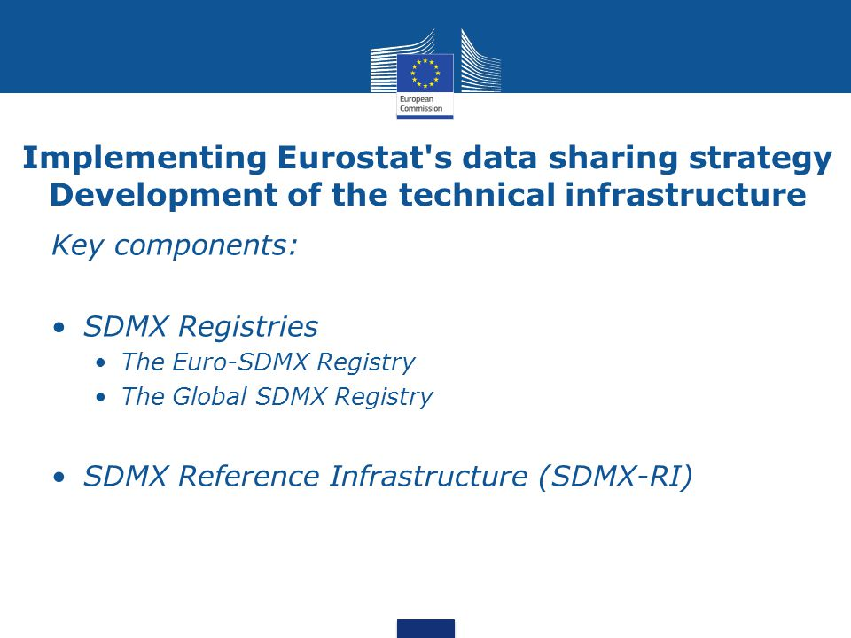 Implementing Eurostat s data sharing strategy Development of the technical infrastructure