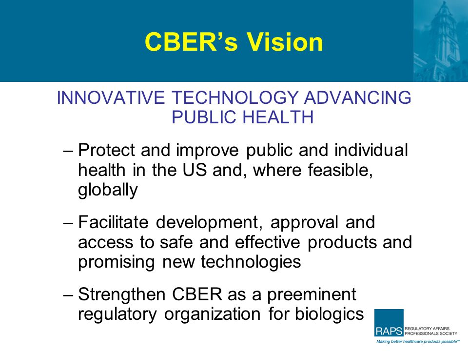 INNOVATIVE TECHNOLOGY ADVANCING PUBLIC HEALTH