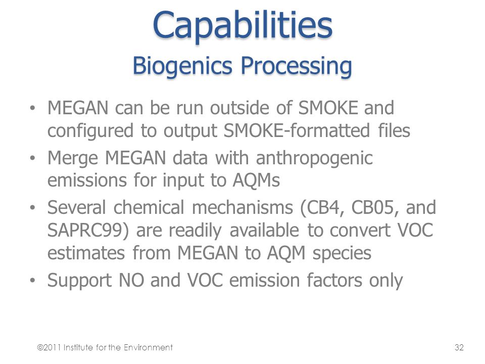 Capabilities Biogenics Processing