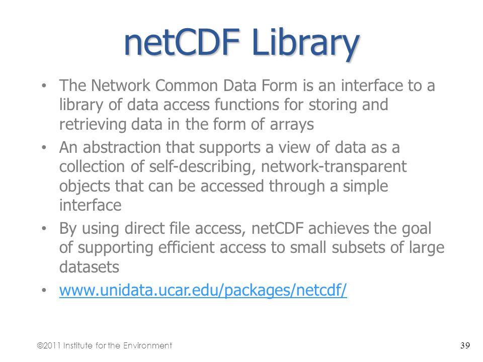 netCDF Library