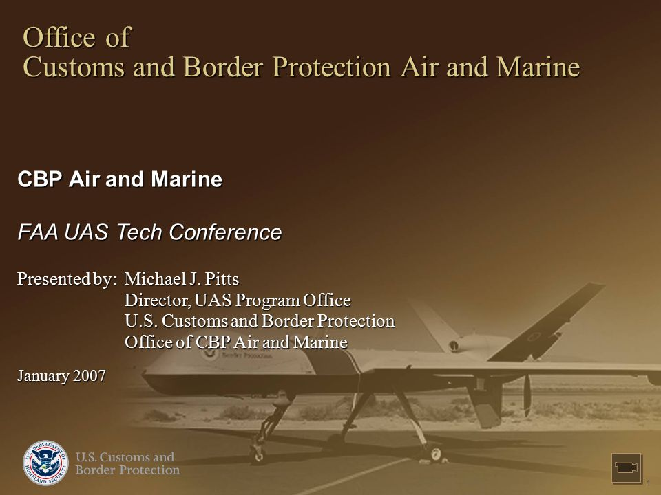 Office of Customs and Border Protection Air and Marine