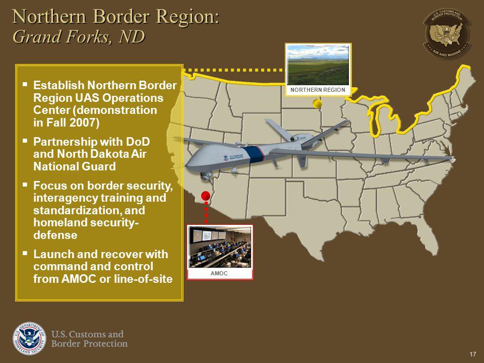 Northern Border Region: Grand Forks, ND