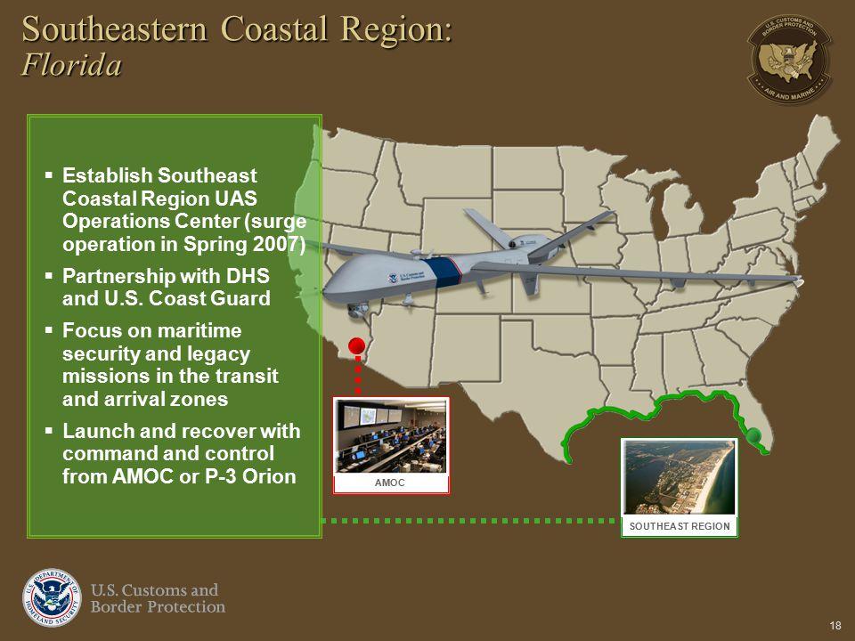 Southeastern Coastal Region: Florida