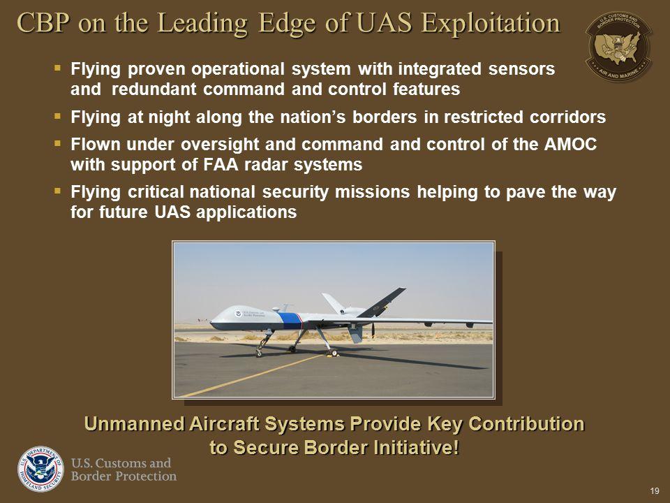 CBP on the Leading Edge of UAS Exploitation