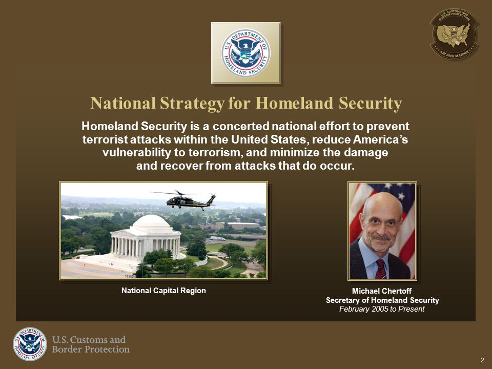 National Strategy for Homeland Security