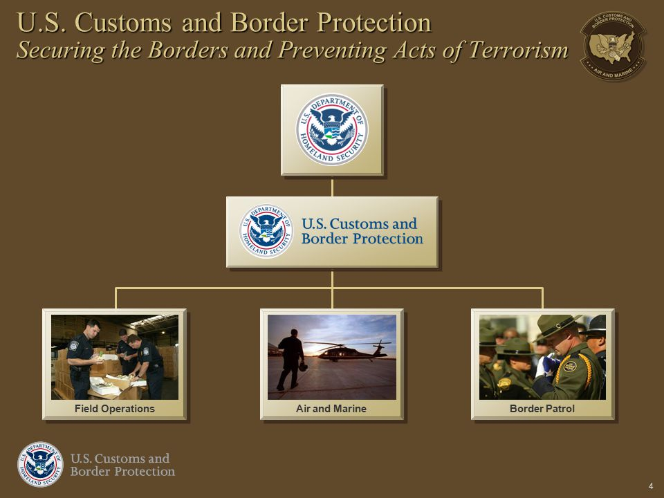 U.S. Customs and Border Protection Securing the Borders and Preventing Acts of Terrorism