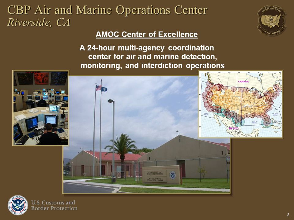 CBP Air and Marine Operations Center Riverside, CA