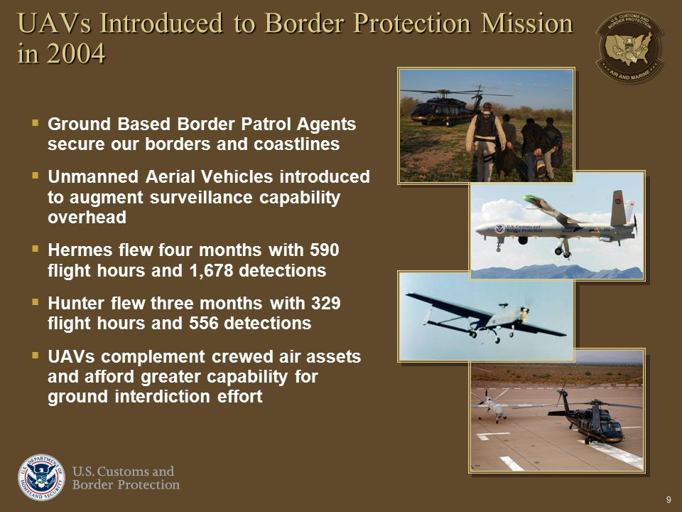 UAVs Introduced to Border Protection Mission in 2004