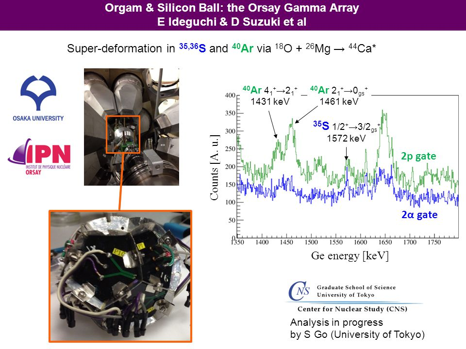 Orgam & Silicon Ball: the Orsay Gamma Array