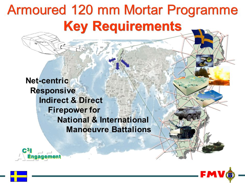 Armoured 120 mm Mortar Programme Key Requirements