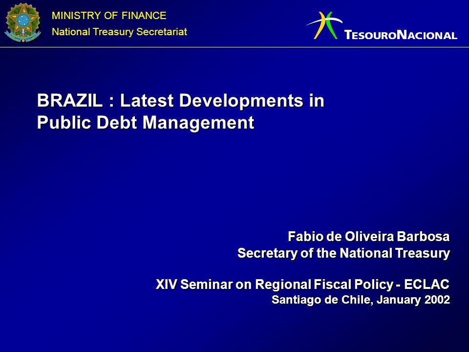 BRAZIL : Latest Developments in Public Debt Management