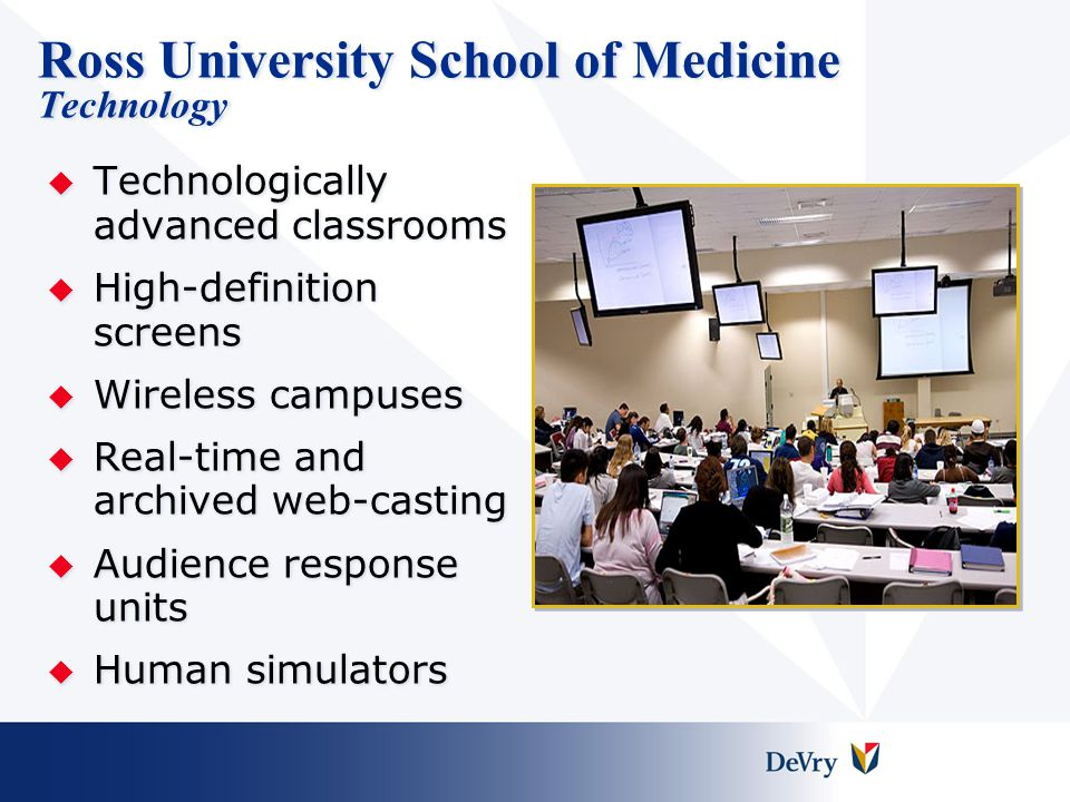 Ross University School of Medicine Technology