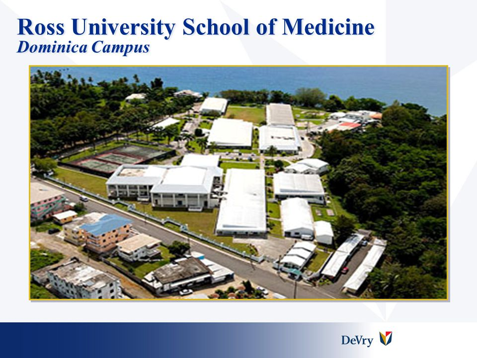 Ross University School of Medicine Dominica Campus