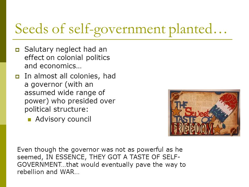 Seeds of self-government planted…