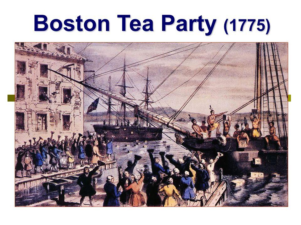 Boston Tea Party (1775)
