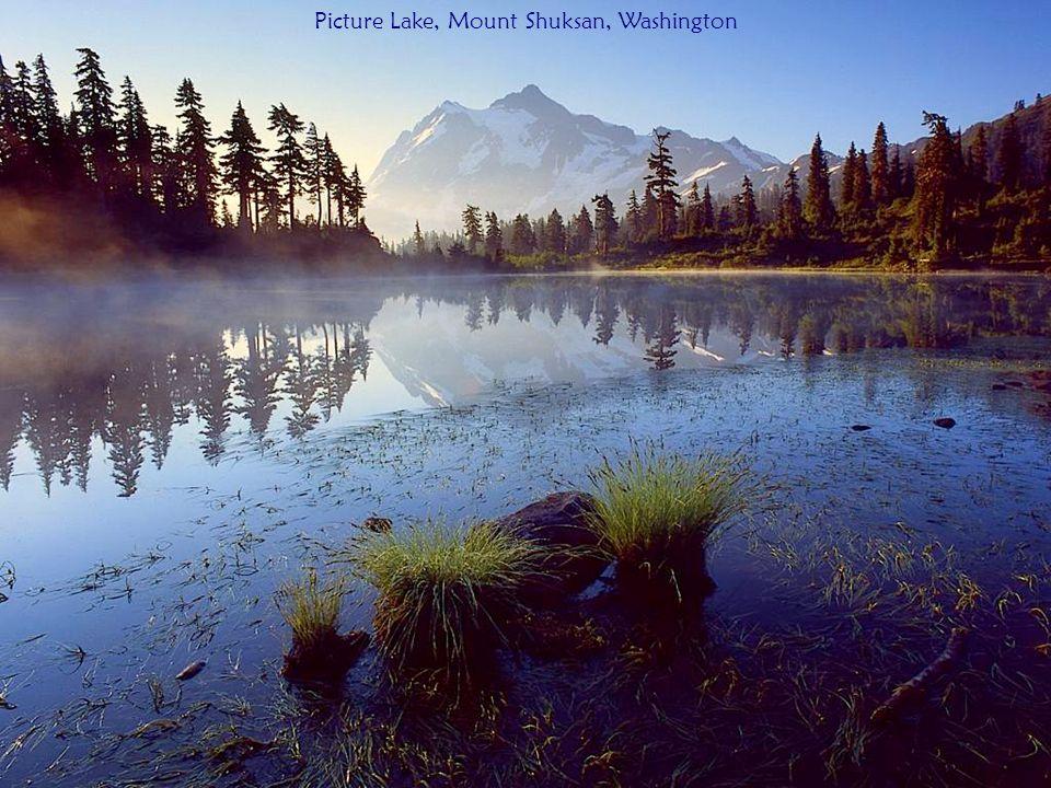 Picture Lake, Mount Shuksan, Washington