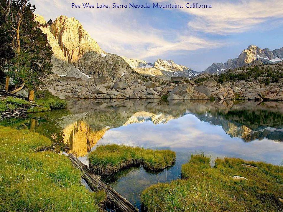 Pee Wee Lake, Sierra Nevada Mountains, California