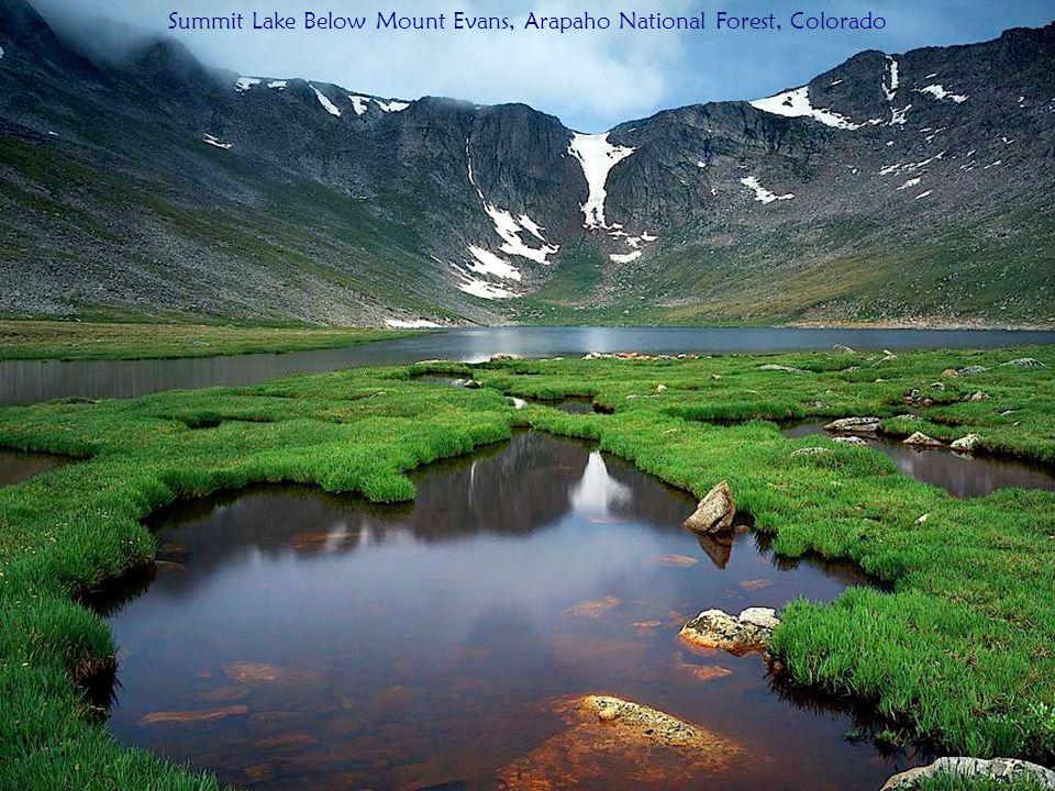 Summit Lake Below Mount Evans, Arapaho National Forest, Colorado