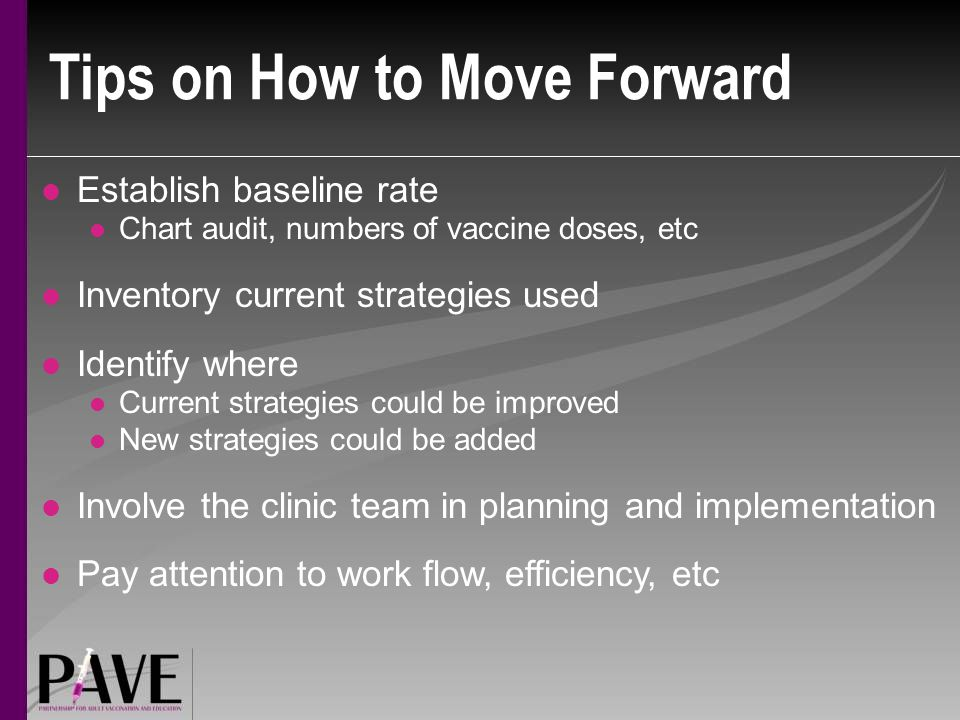Tips on How to Move Forward