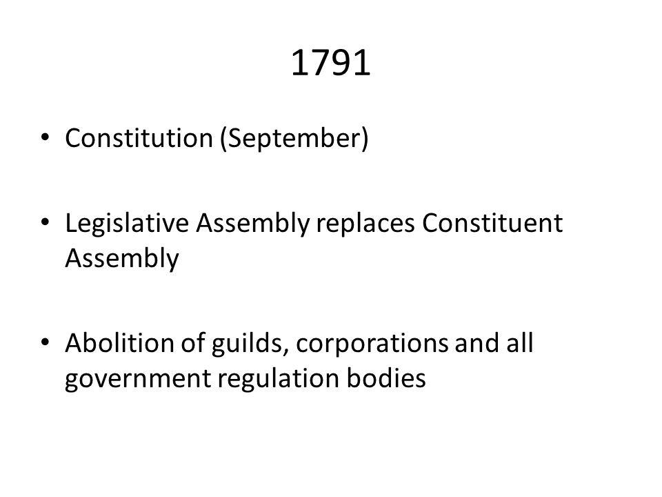 1791 Constitution (September)