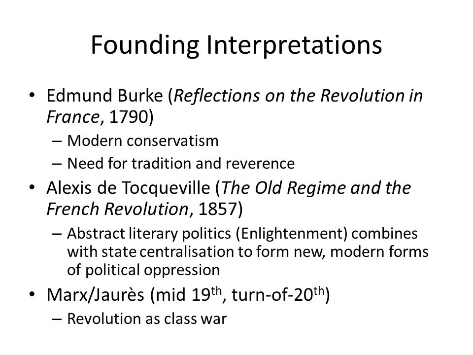 Founding Interpretations