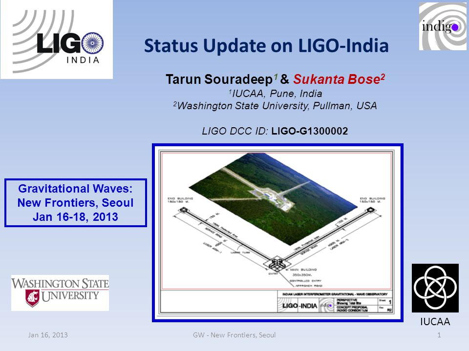 Status Update on LIGO-India