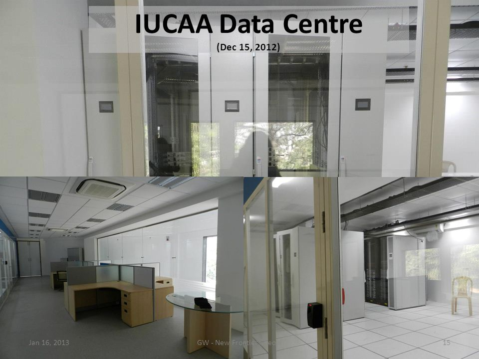 IUCAA Data Centre (Dec 15, 2012)