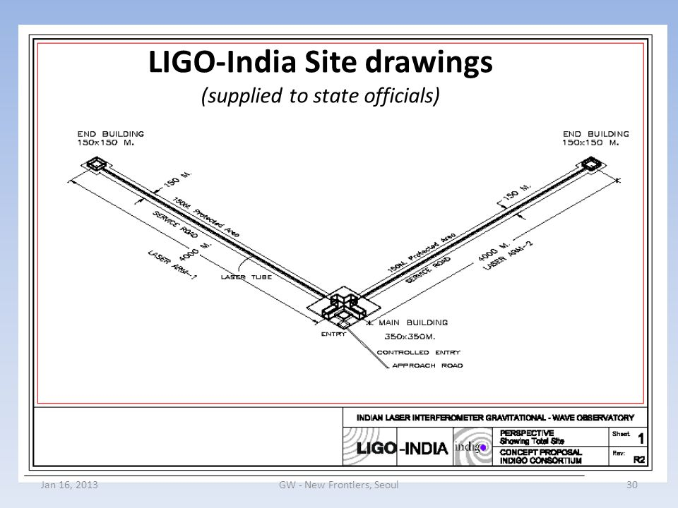 LIGO-India Site drawings