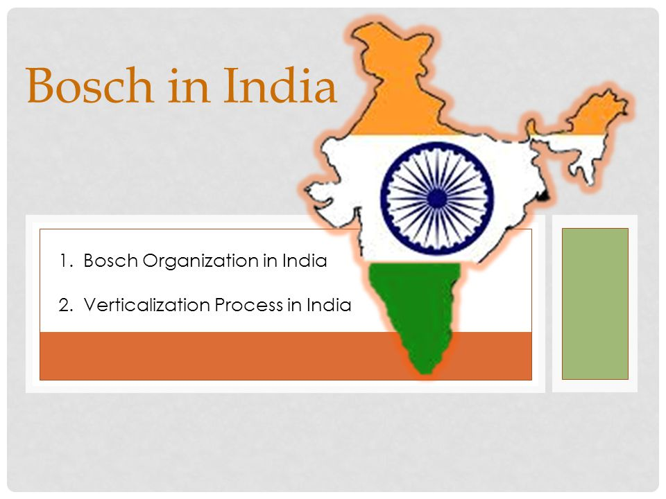 bosch group in india transition to a transnational organization At lower management levels india has benefited from globalization through a rising standard of living, more consumer choice, and _____ a transnational organization tries to be simultaneously centralized and decentralized true.