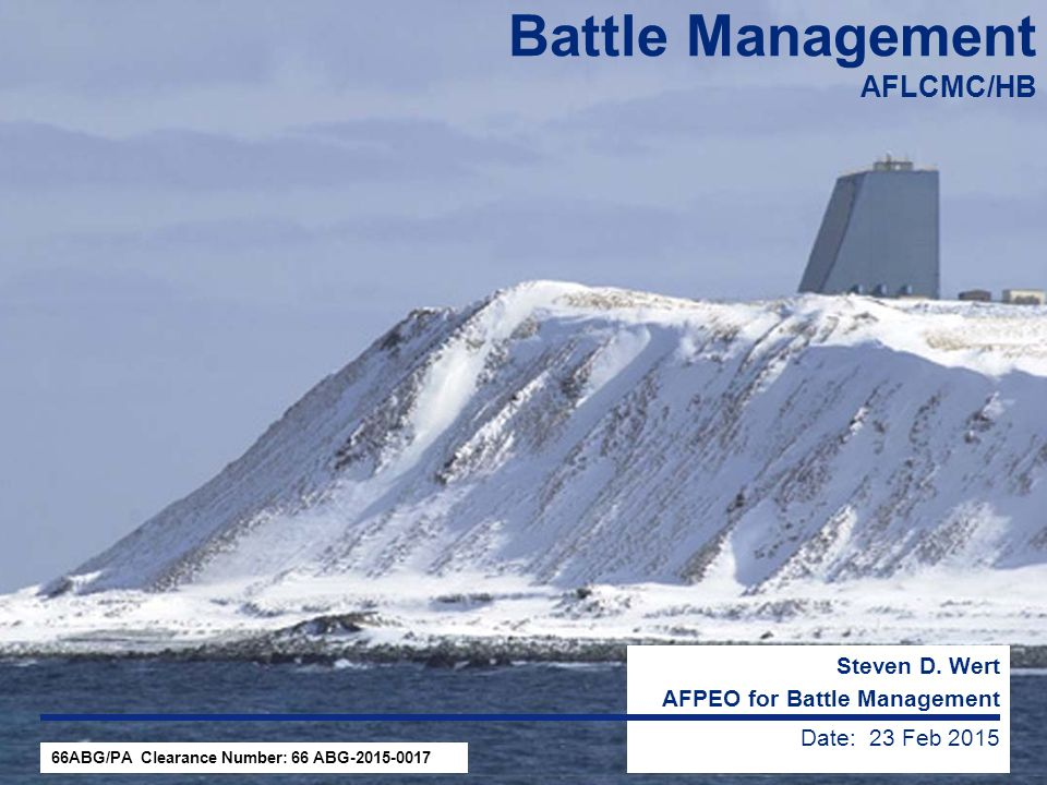 Battle Management AFLCMC/HB