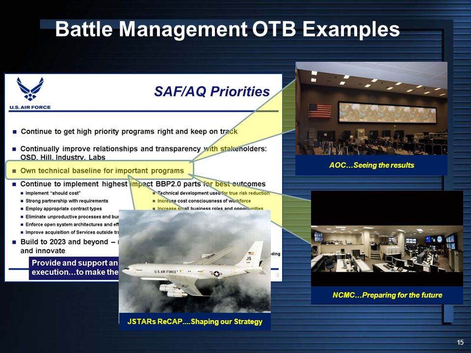 Battle Management OTB Examples