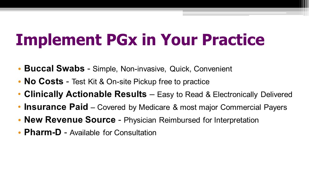 Implement PGx in Your Practice