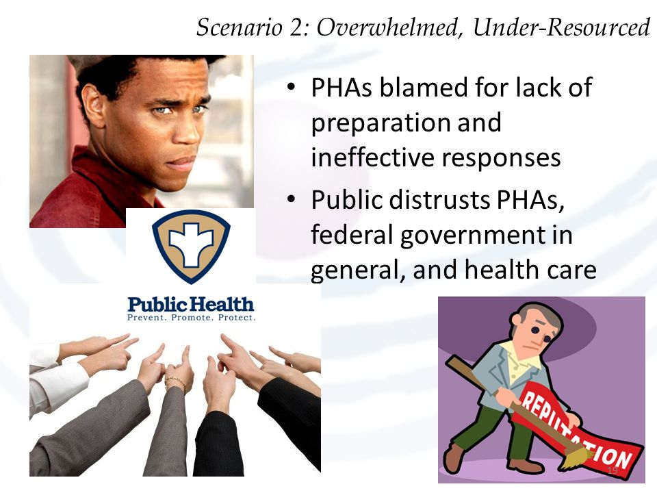PHAs blamed for lack of preparation and ineffective responses