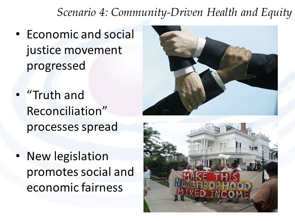 Economic and social justice movement progressed