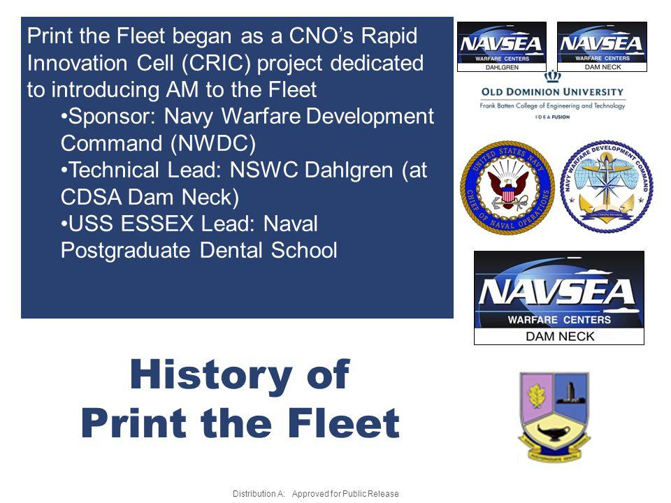History of Print the Fleet