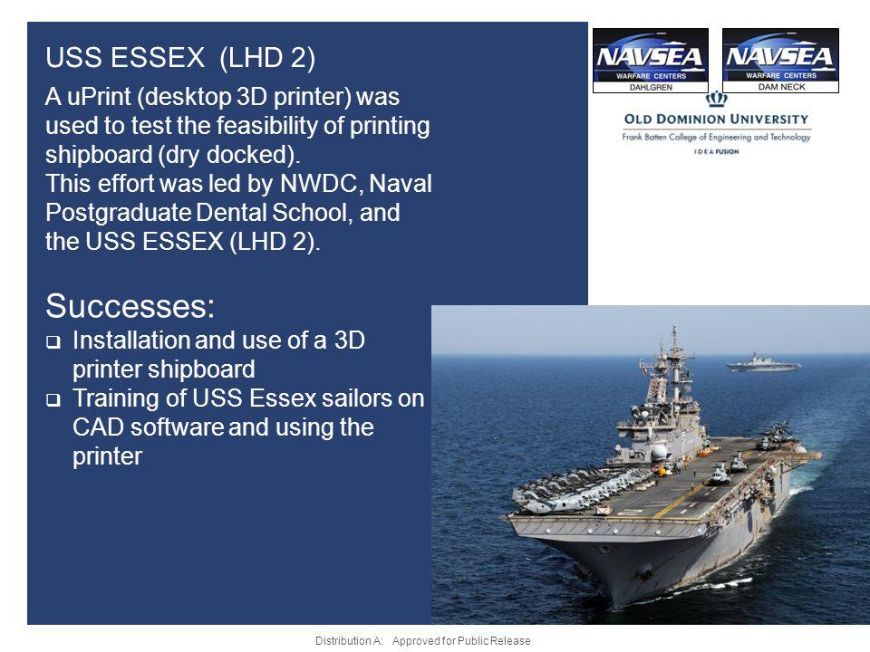 Successes: USS ESSEX (LHD 2)