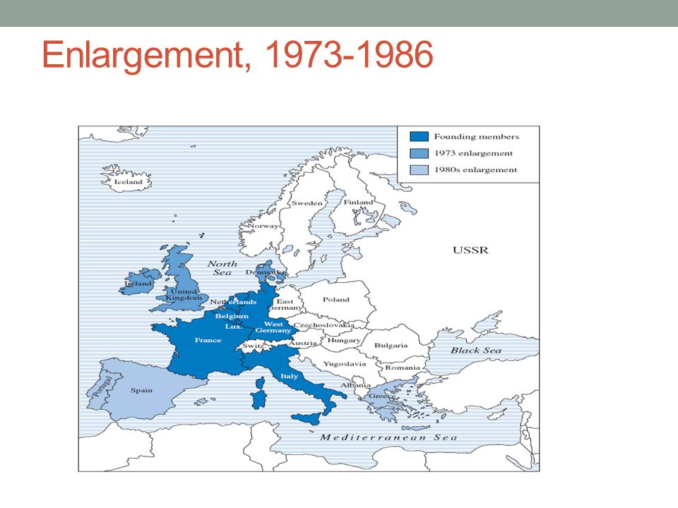 Enlargement, 1973-1986