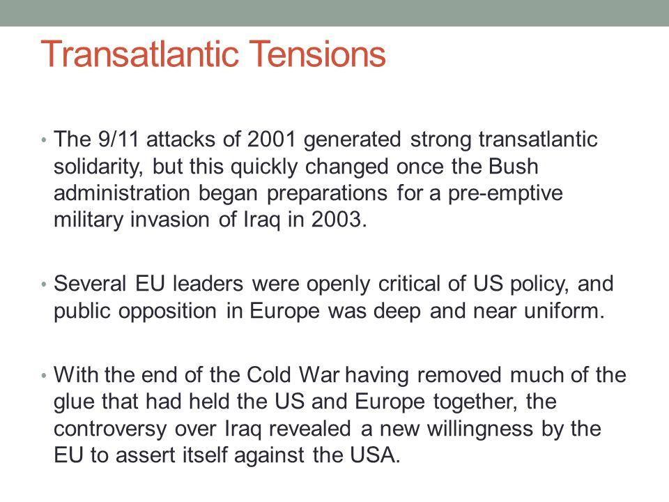 Transatlantic Tensions