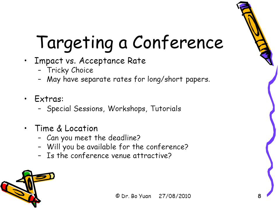 Targeting a Conference